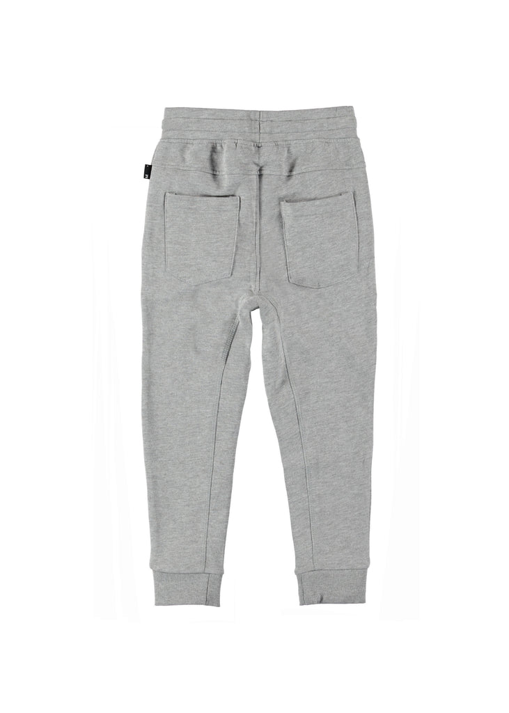 ASHTON SWEATPANTS - GREY MELANGE