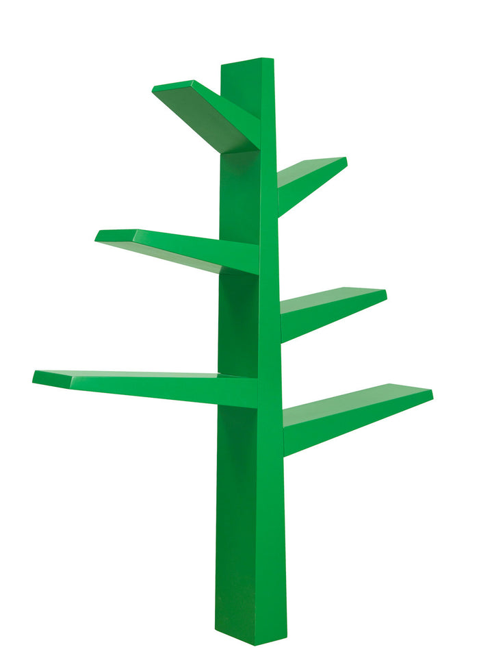 SPRUCE TREE BOOKCASE - GREEN
