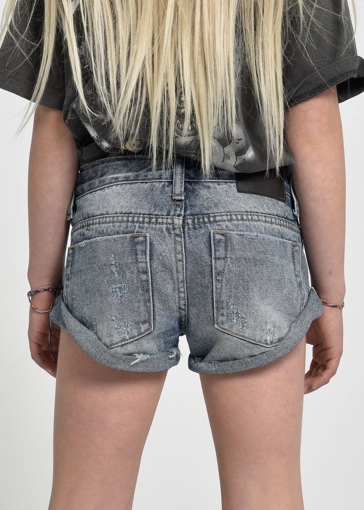 BANDIT DENIM SHORTS - STORM BUOY