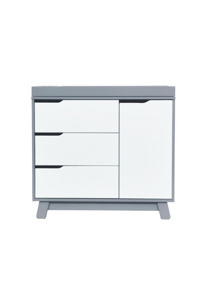 HUDSON CHANGER DRESSER - GREY/WHITE