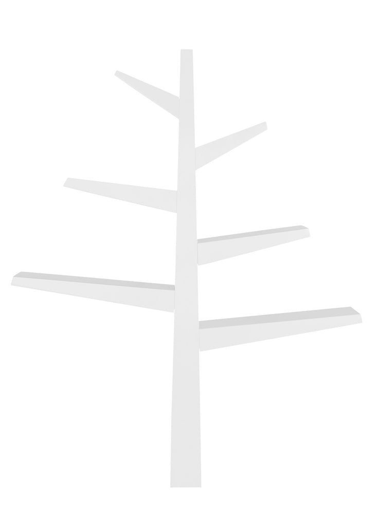 SPRUCE TREE BOOKCASE - WHITE