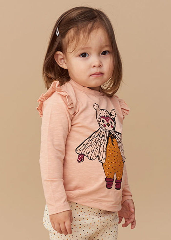 BABY MADDY OWL TEE