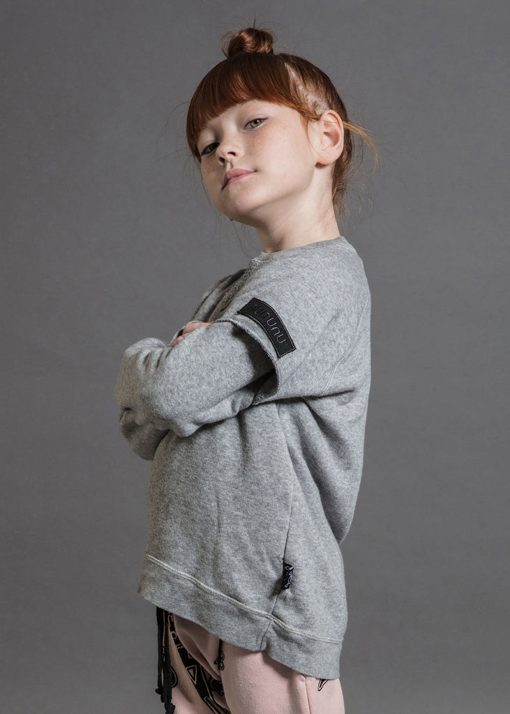 TWOFER SWEATSHIRT - GREY