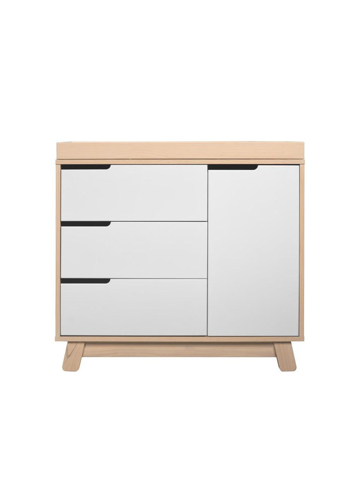 HUDSON CHANGER DRESSER - WASHED NATURAL/WHITE