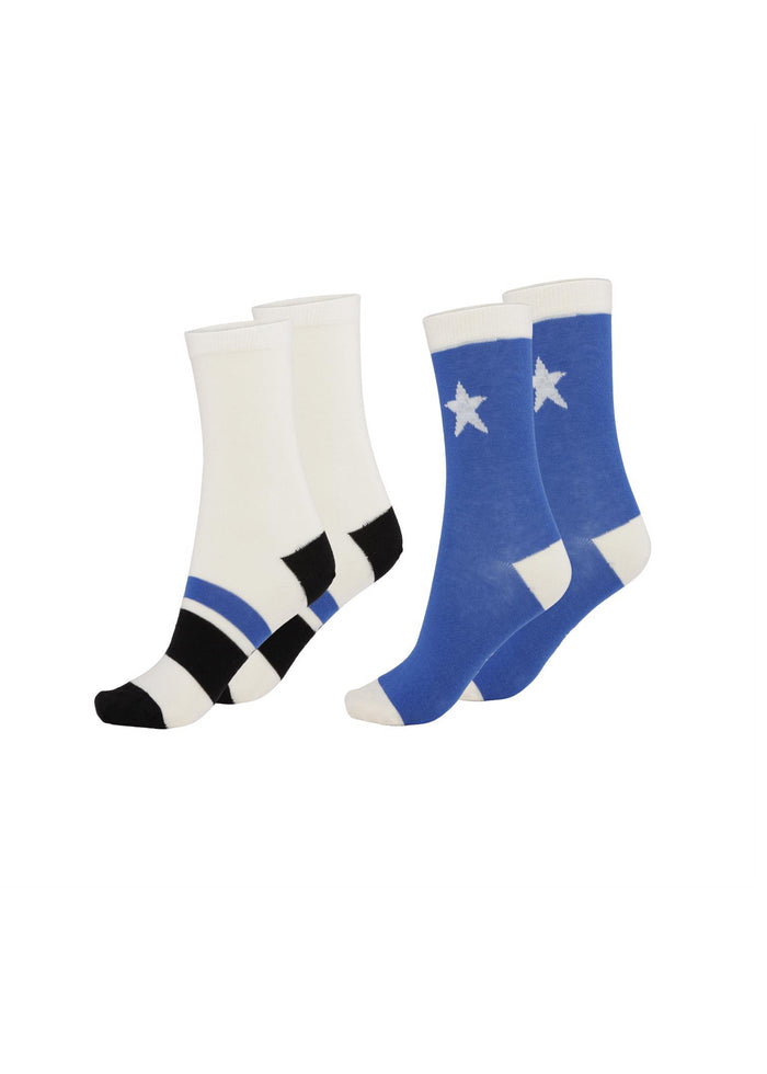 NITIS SOCKS 2 - PACKS - ROYAL BLUE
