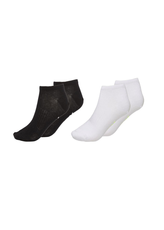 NORTH SOCKS - 2 PACK - WHITE/BLACK