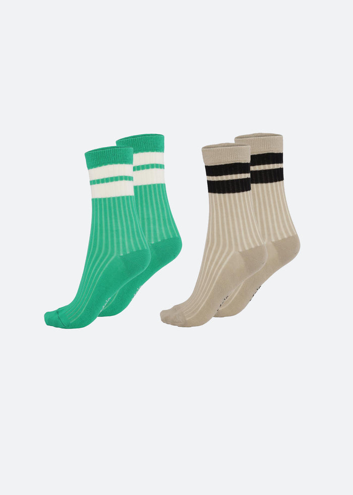 NICKEY SOCKS - 2 PACK - ROYAL GREEN