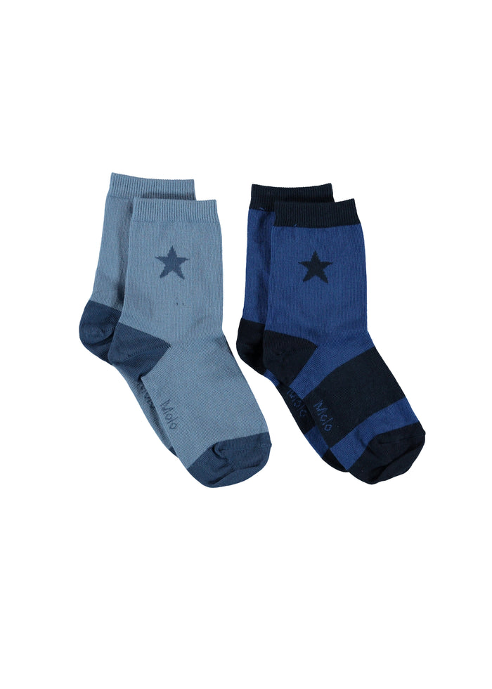 NITIS SOCKS - 2 PACKS - TWILIGHT BLUE