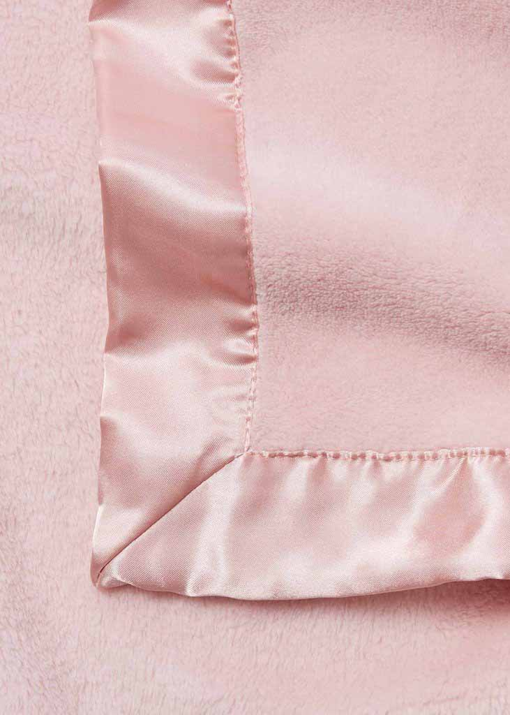 HANGING FLEECE BLANKET - PINK