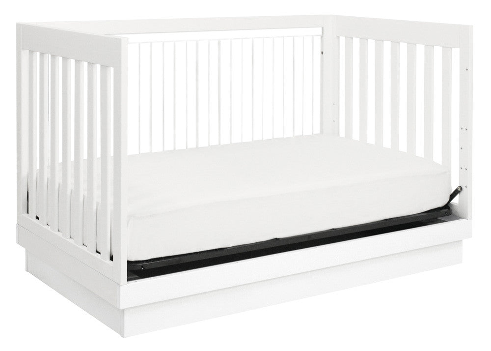 HARLOW 3-IN-1 CONVERTIBLE CRIB WITH TODDLER BED CONVERSION KIT