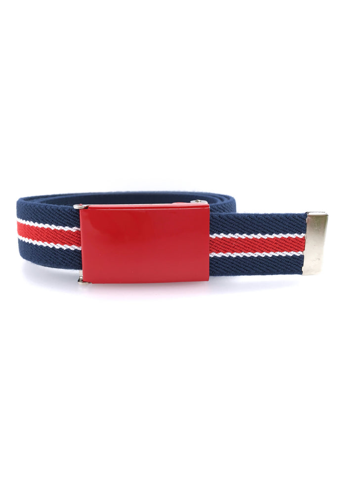 ROYAL CHILDREN BELT - BLUE/RED