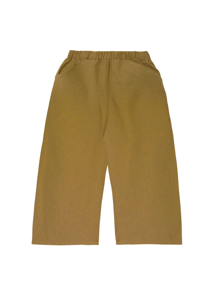WIDE LEG CULOTTES - FENNEL