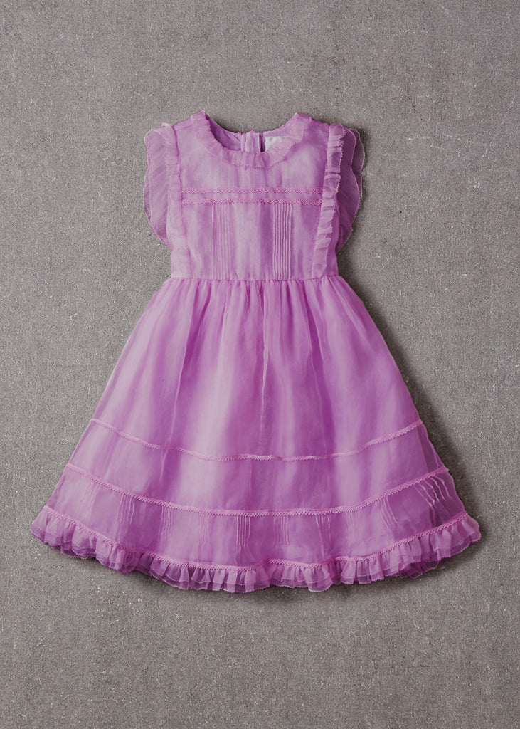 FLORA DRESS - RADIANT ORCHID