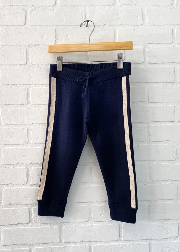 CHLOÉ KNIT TRACK PANTS