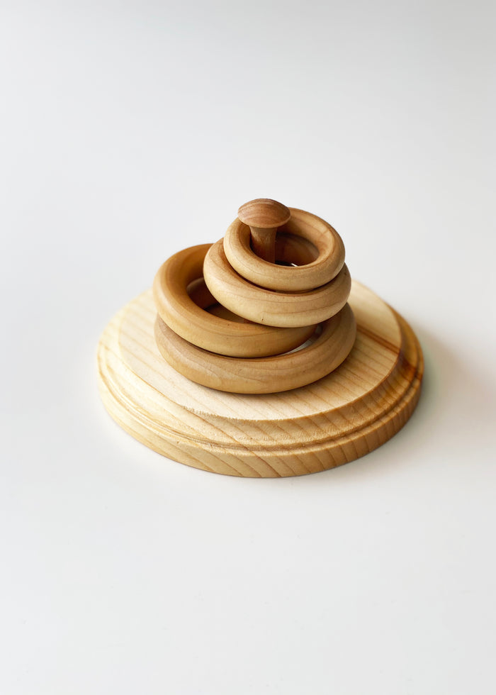 WOOD STACKING RINGS