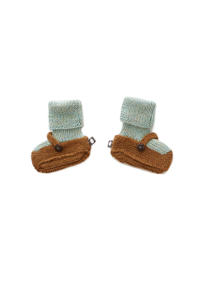 MARY JANE KNIT BOOTIES