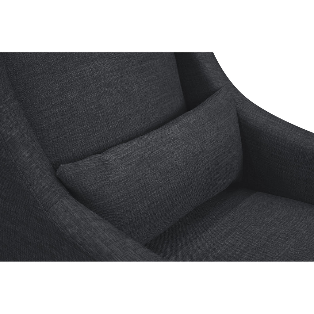 TOCO SWIVEL GLIDER & STATIONARY OTTOMAN