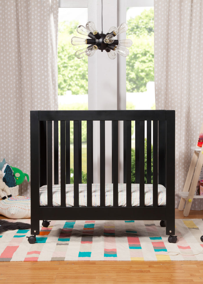 ORIGAMI MINI CRIB - BLACK