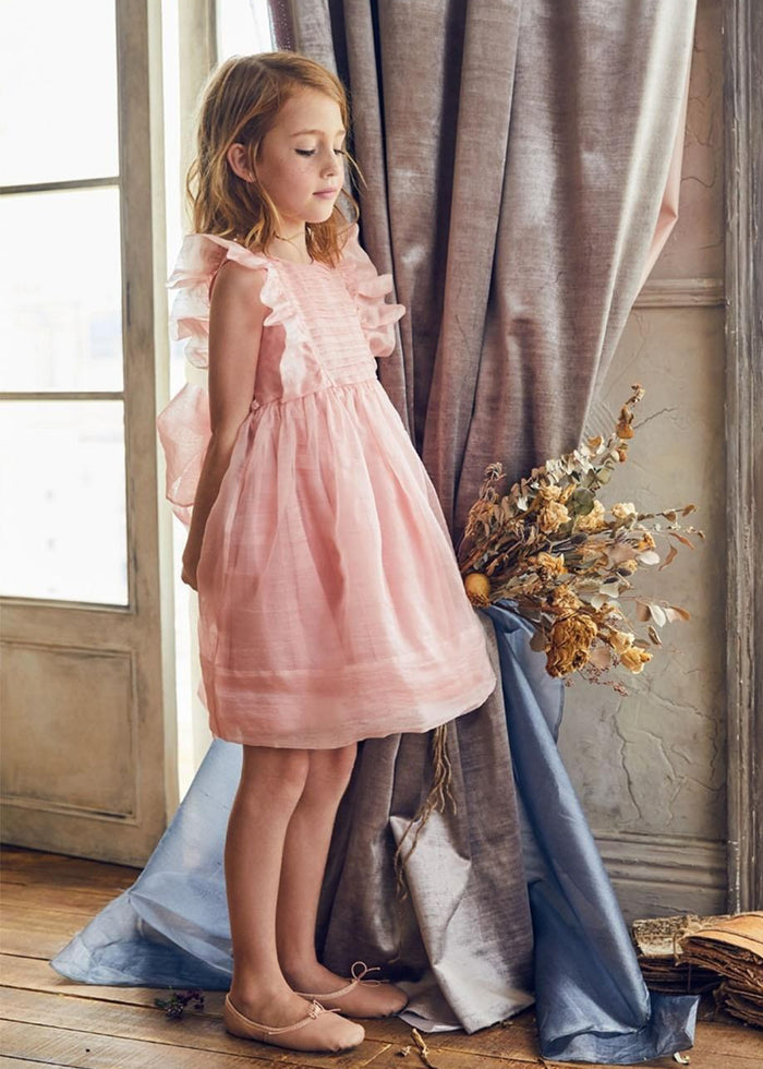 MAE DRESS - SUNSET PINK