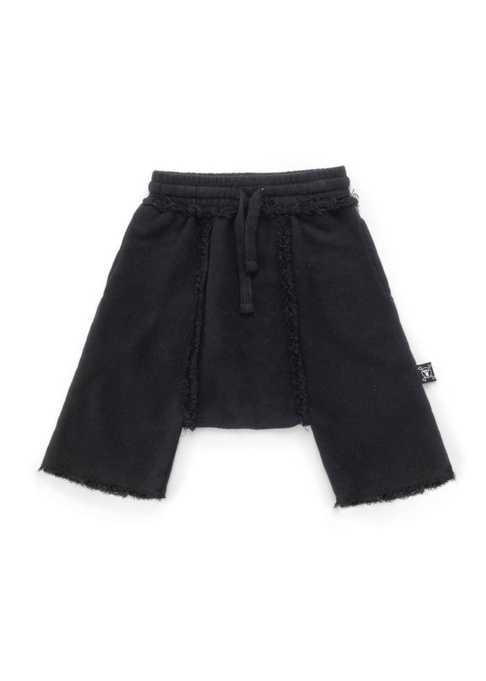RAW HAREM SWEATSHORTS
