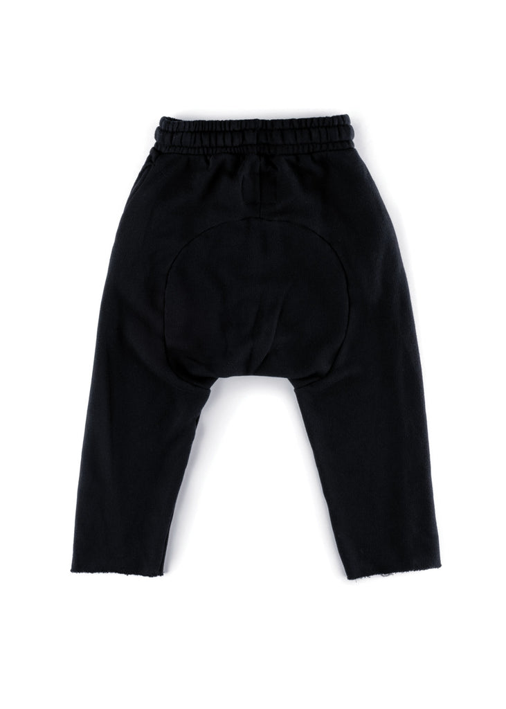 RAW SWEATPANTS - BLACK