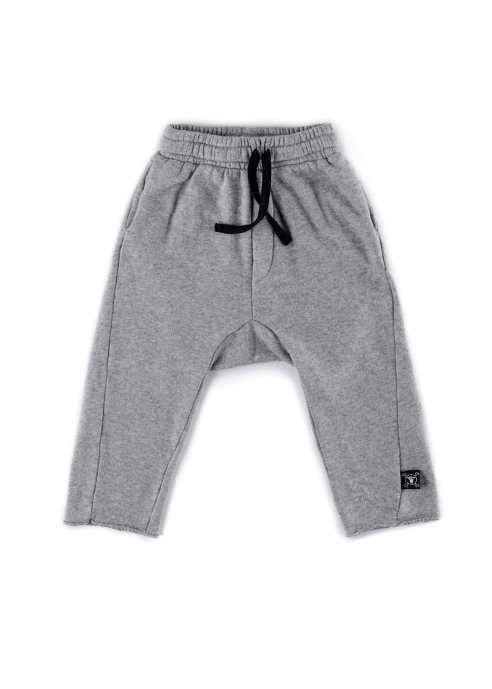 RAW SWEATPANTS - HEATHER GREY