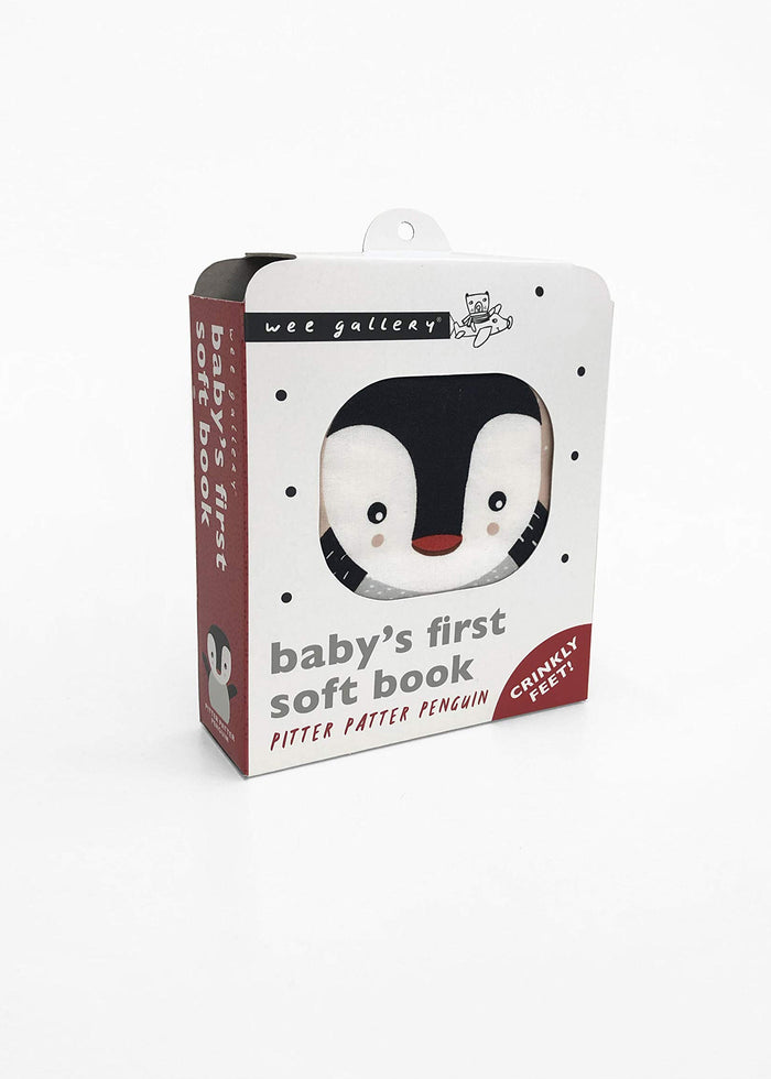 BABY'S FIRST SOFT BOOK - PENGUIN