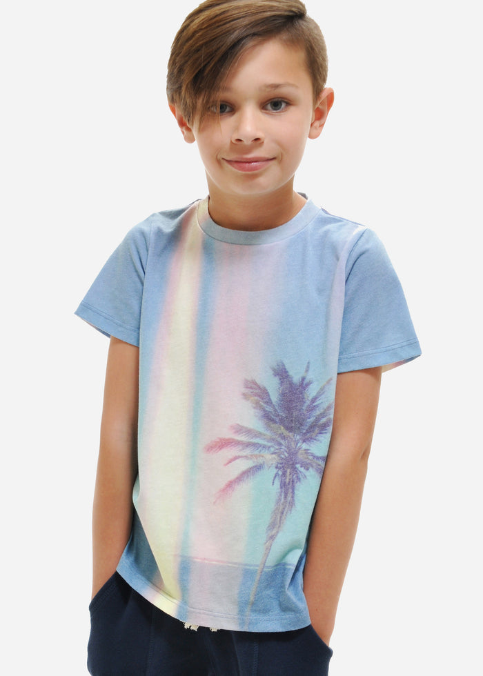 SUNSET PALM TEE