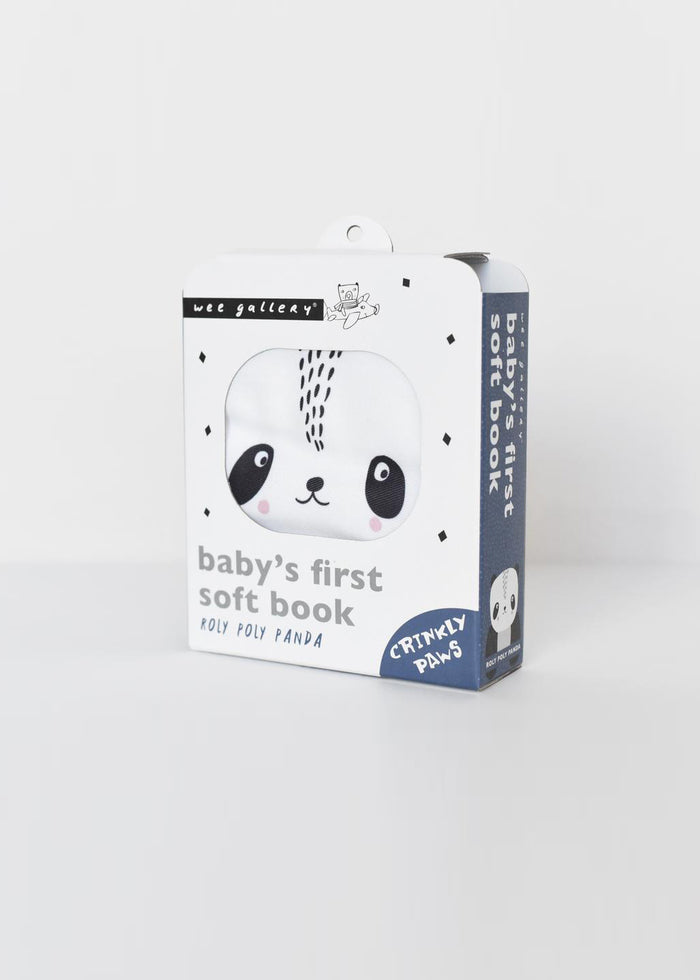 BABY'S FIRST SOFT BOOK - PANDA