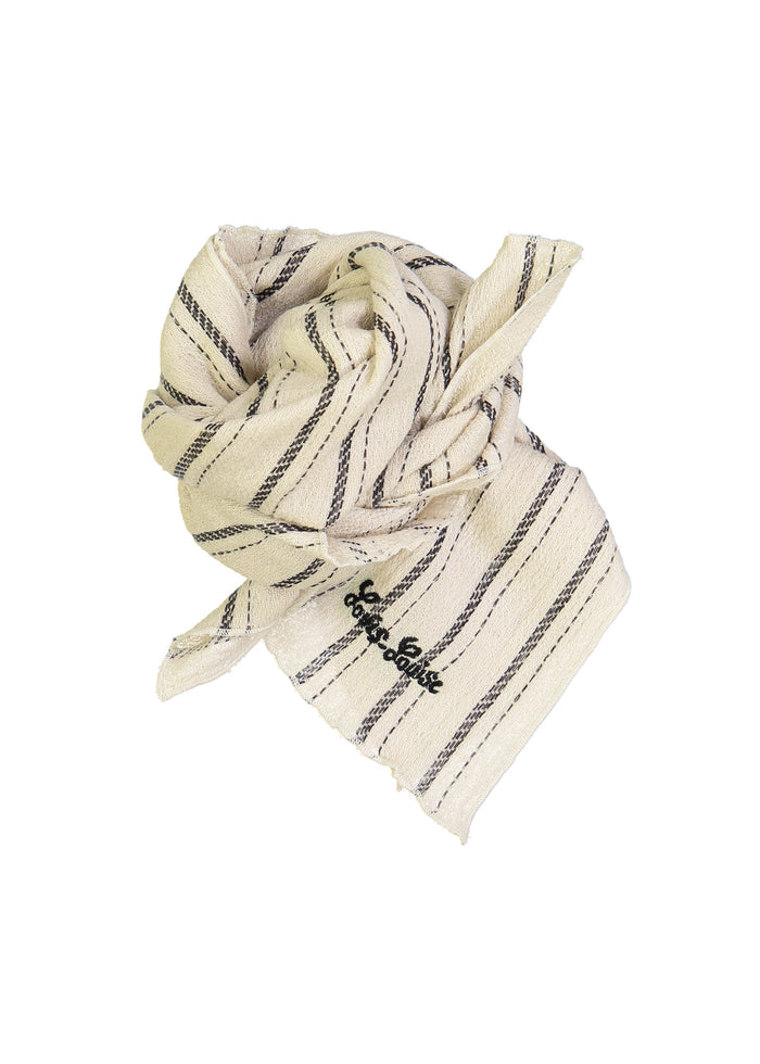 SISSI SCARF - BLACK/WHITE