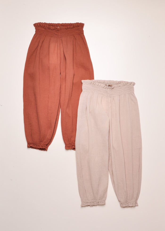 GAUZE TROUSERS - COLOR OPTIONS