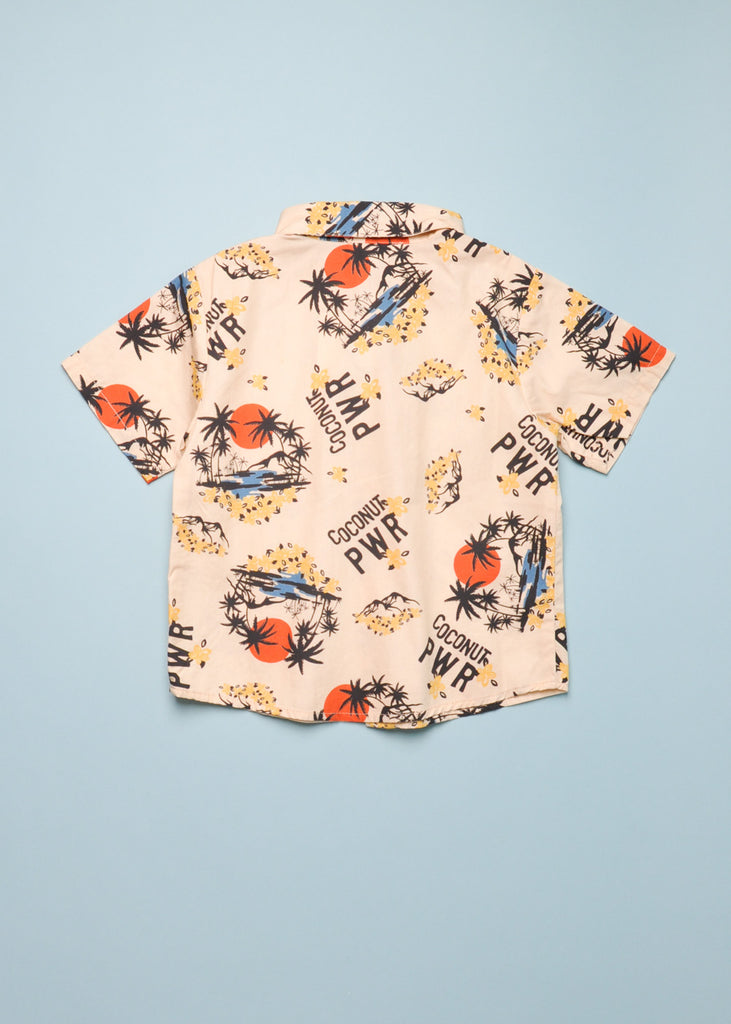 HAWAII PANAMA BUTTON DOWN