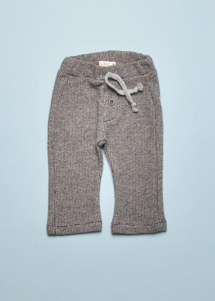 HERRINGBONE FLEECE PANTS