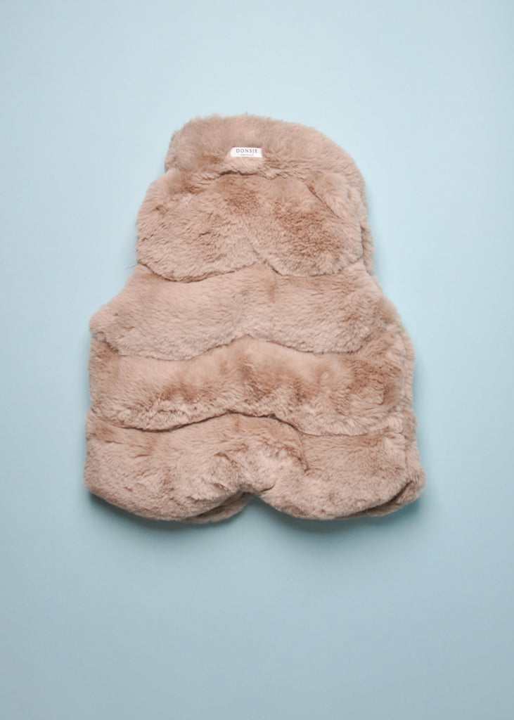 JANE FAUX FUR VEST