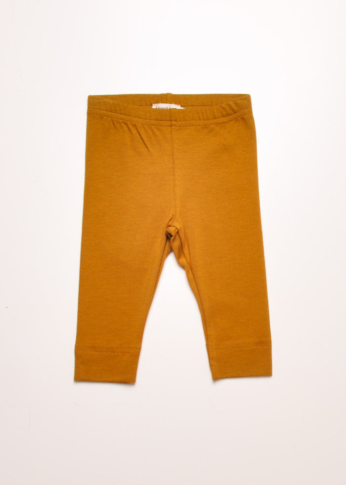 BABY LEGGING PANT - GOLDEN OLIVE