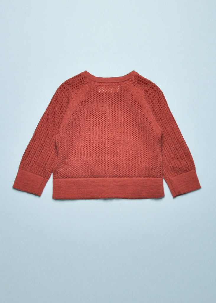 BABY POINTELLE CARDIGAN