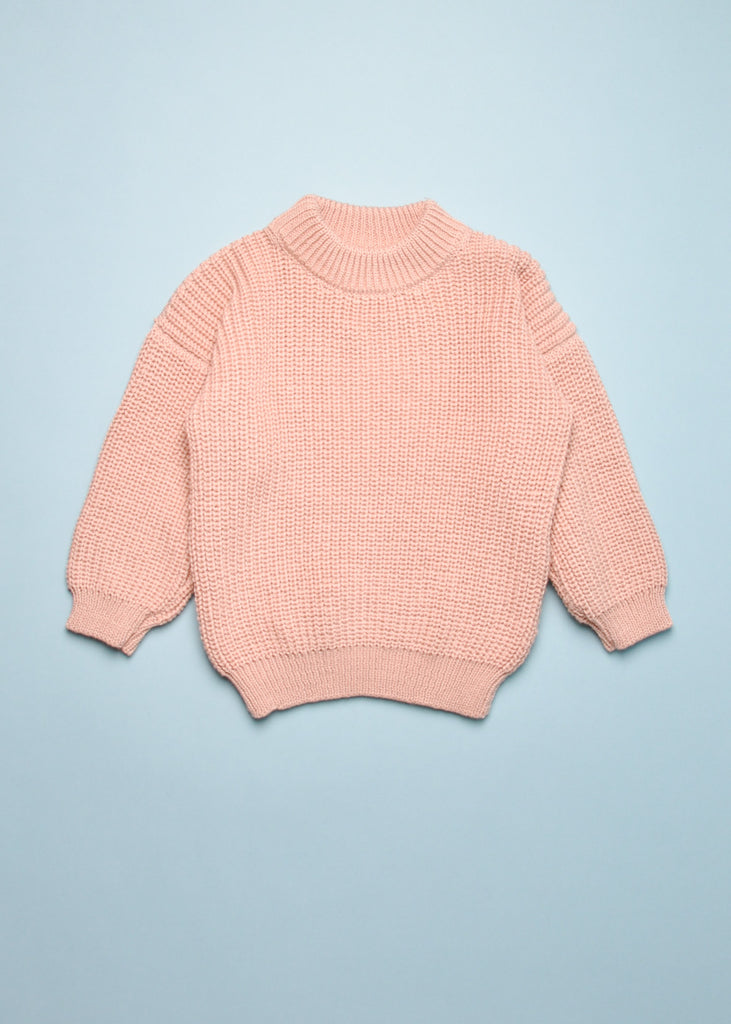 CHUNKY PULLOVER SWEATER