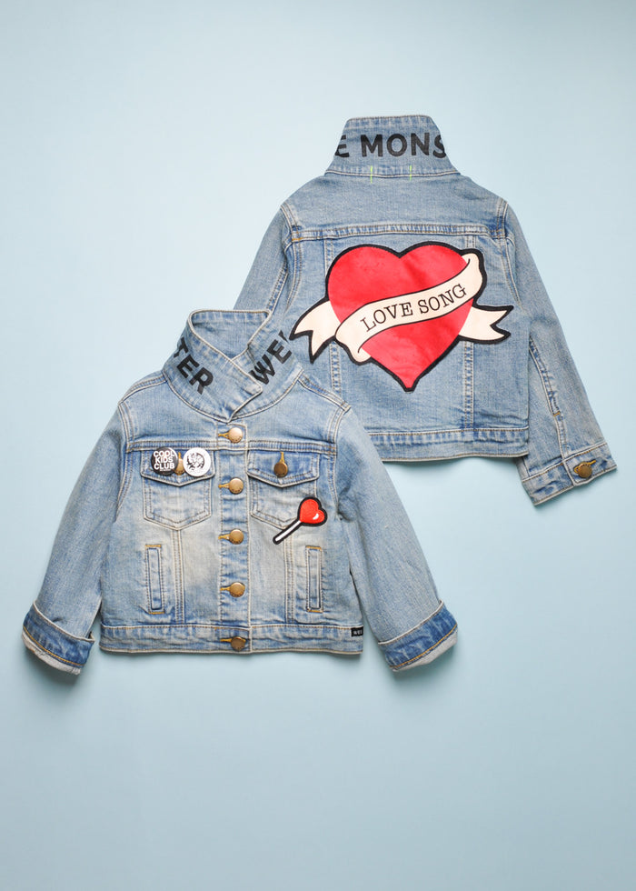 LOVE SONG DENIM JACKET