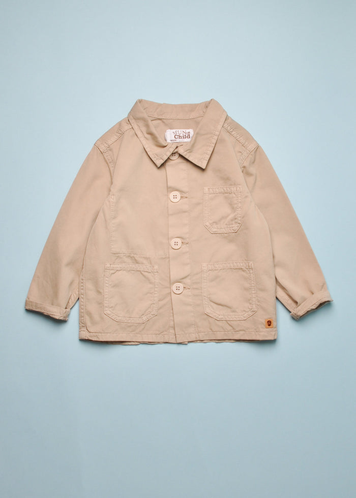 SAMBLAS WORK JACKET - SAFARI