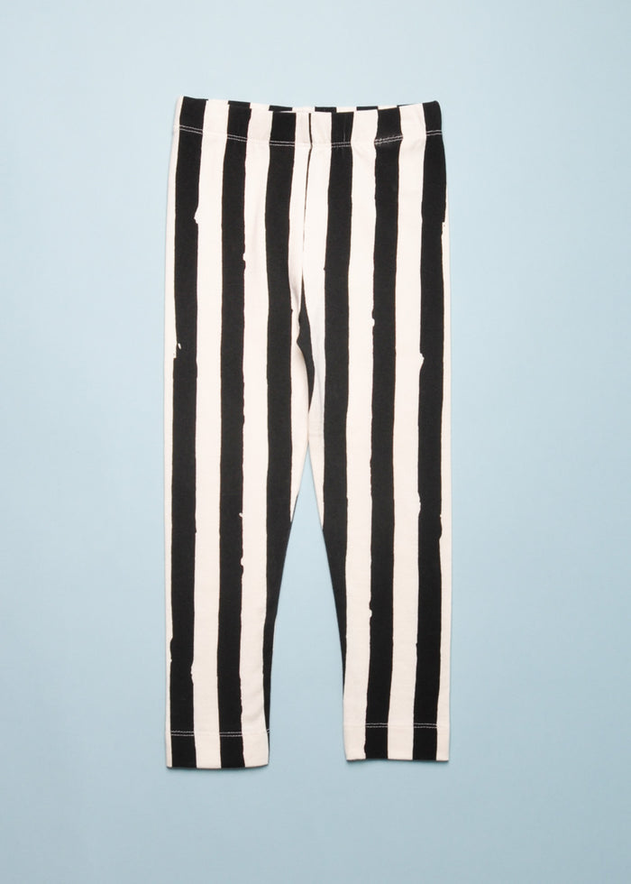PAINTED STRIPE LEGGINGS