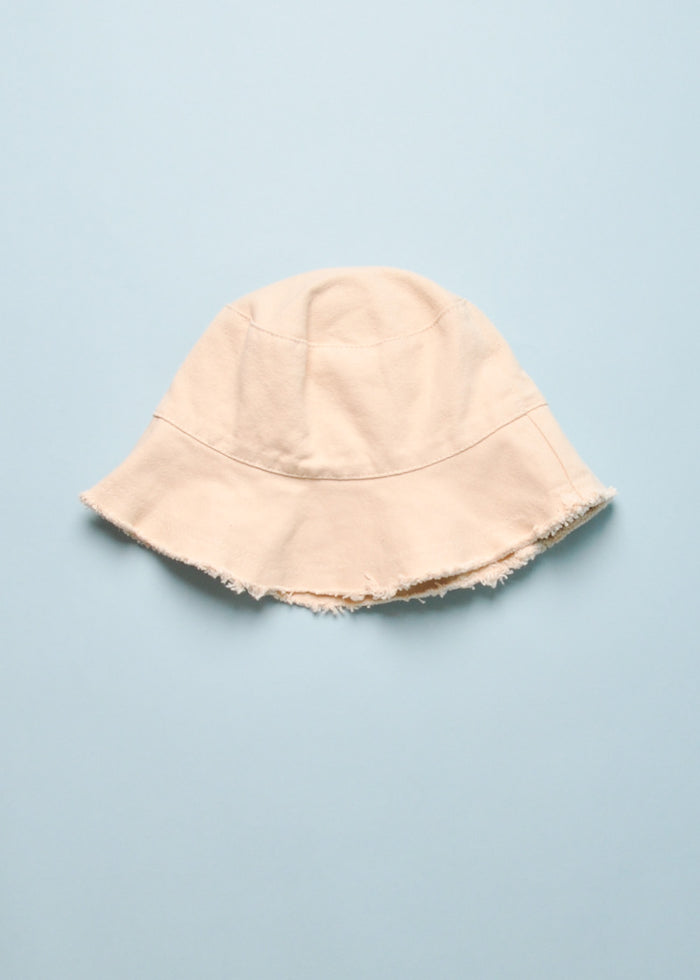 RAW TRIM BUCKET HAT