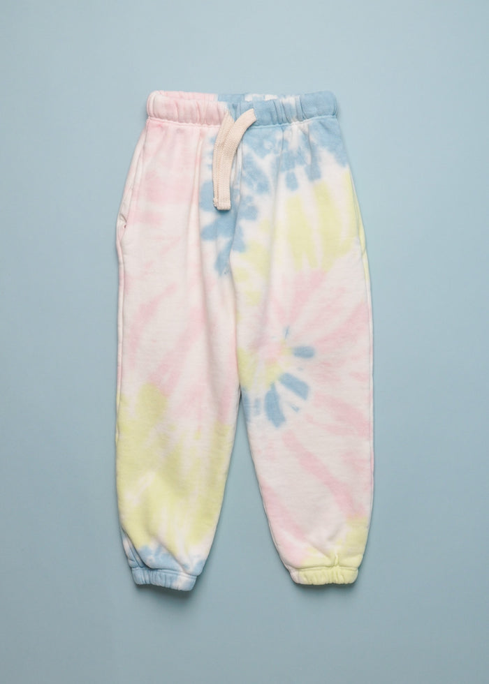 TIE DYE SWEATPANT - LIGHT MULTI