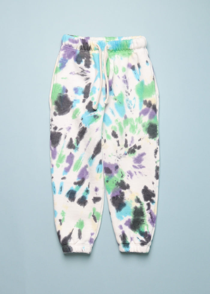 TIE DYE SWEATPANT - PURPLE MULTI
