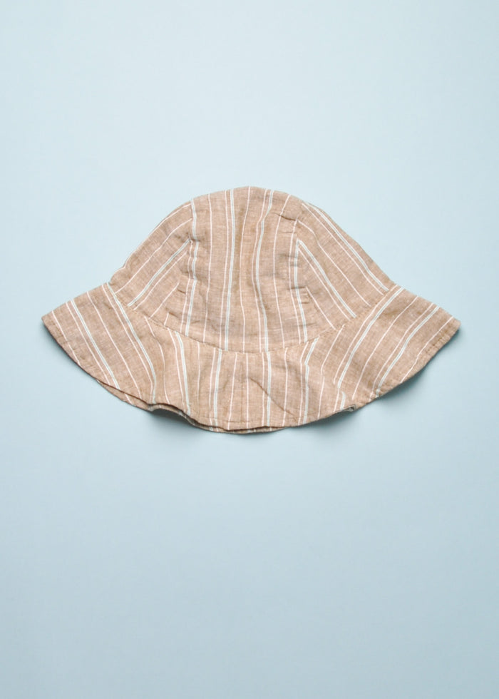 TATE BUCKET HAT - BROWN