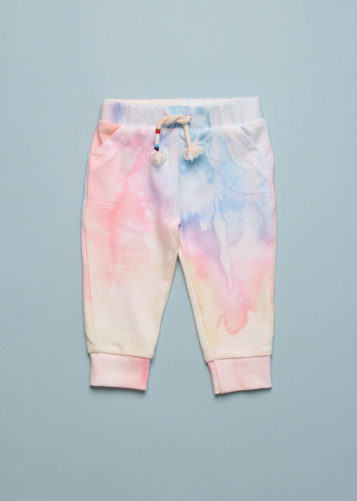 WATERCOLOR SOFT BABY JOGGERS