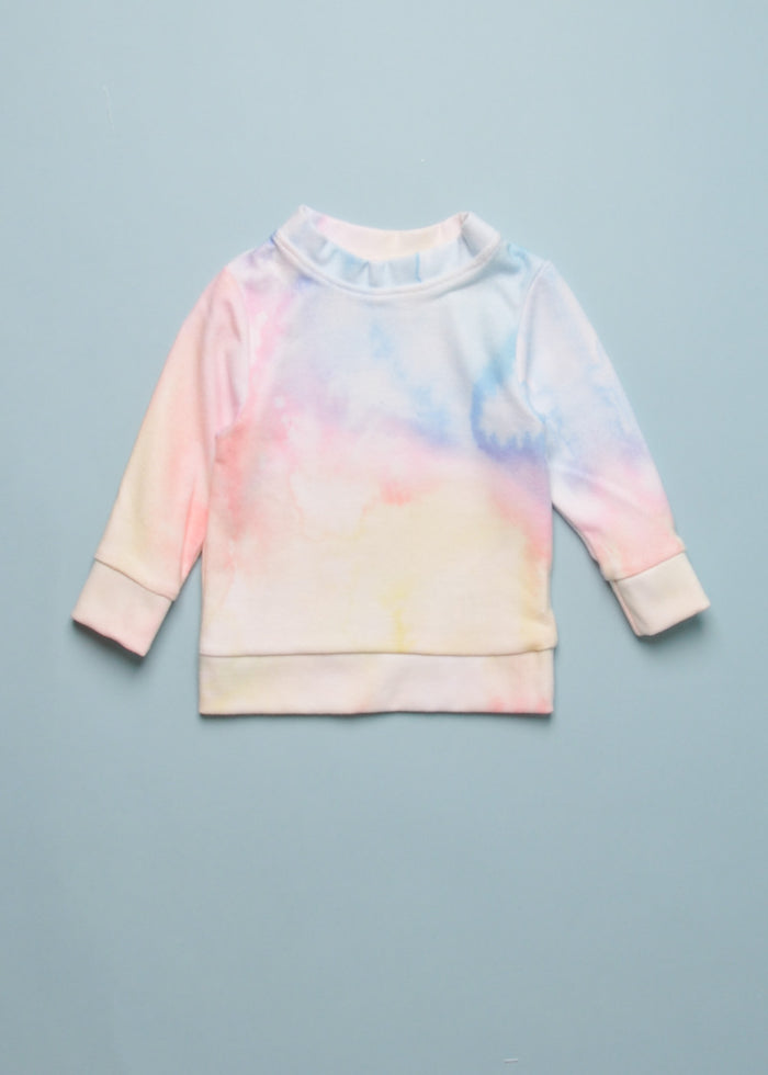 WATERCOLOR SOFT BABY CREWNECK