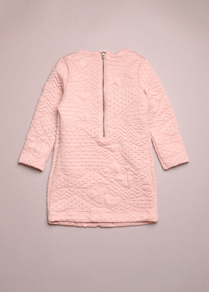 QUILTED SWEATDRESS