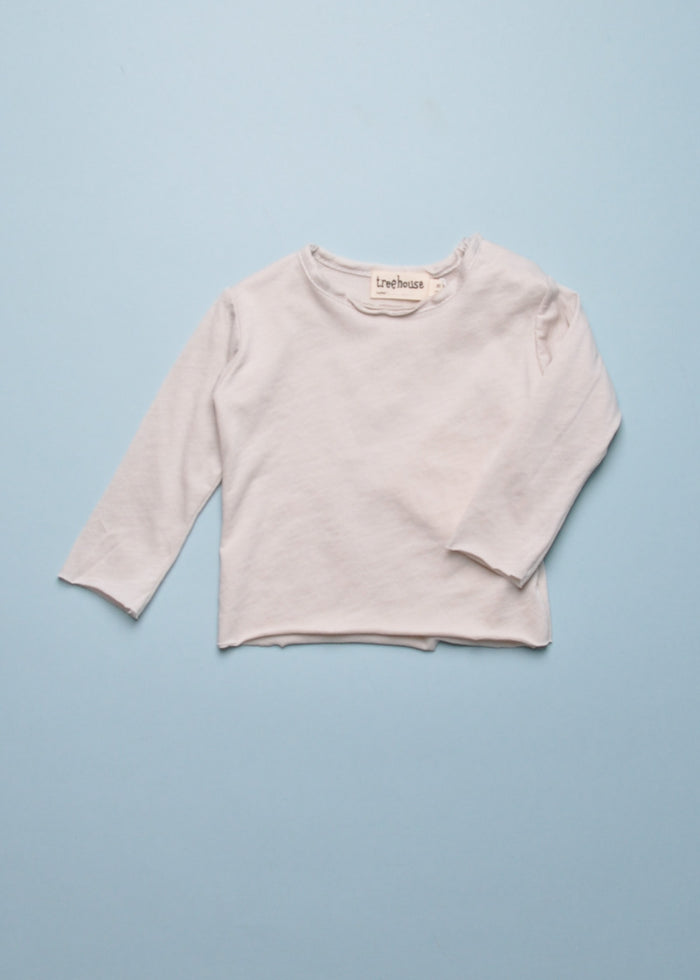 ELAS BABY TEE - LIGHT GREY