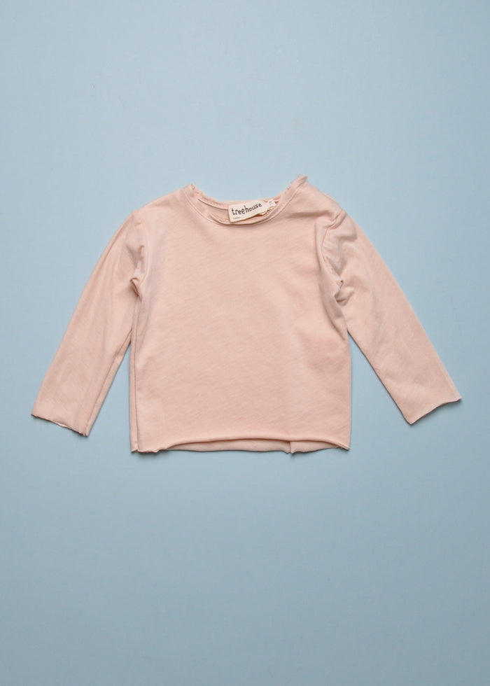 ELAS BABY TEE - POWDER