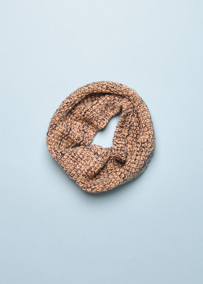 KNIT SNOOD - NAVY